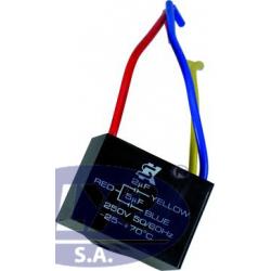 CAPACITOR DE 2+5 MFD 250 V...