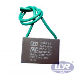 CAPACITOR DE 1.5 MFD 250 V...